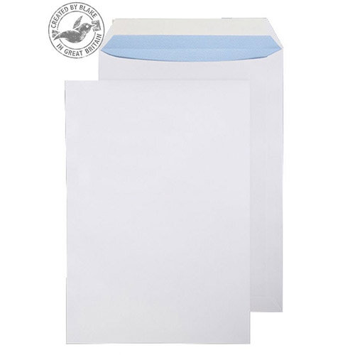 Purely Everyday Pocket Envelopes Peel and Seal White Wove 120gsm 340x240mm Pack of 250