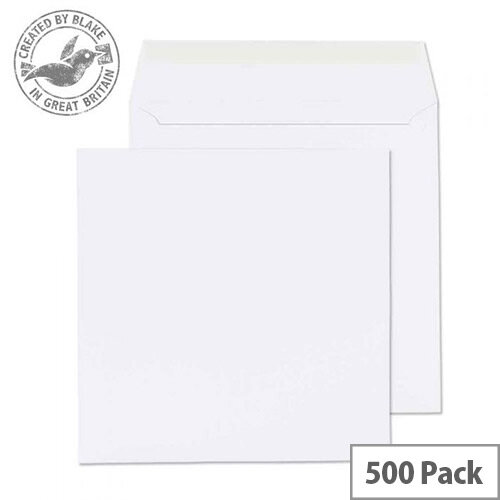 Purely Everyday Square Wallet P& Ultra White Wve 120gsm 155x155  (Pack of 500)