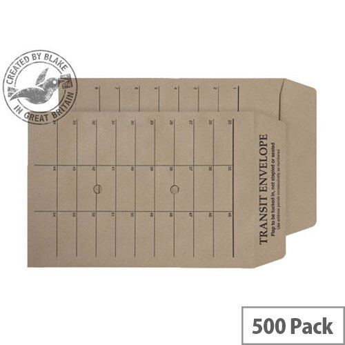 Purely Everyday Manilla Envelopes Internal Mail Gummed 120gsm 254x178 (Pack of 500)