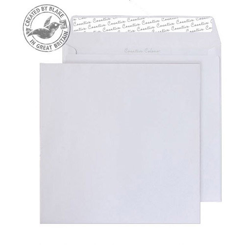 Creative Colour Ice White Wallet Envelopes (Pack of 250)