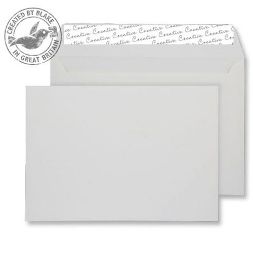 Creative Senses Ivory Wallet C5 Envelopes (Pack of 125)