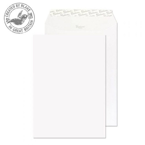 Blake Premium Business Pocket P& Ice White Wove C4 120gsm (Pack of 250)