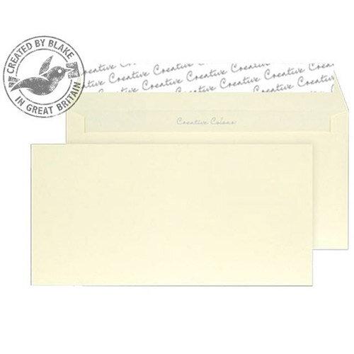 Creative Colour Lemon Yellow DL+ Wallet Envelopes (Pack of 500)