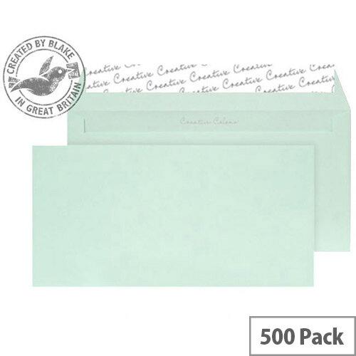 Creative Colour Spearmint Green DL+ Wallet Envelopes (Pack of 500)