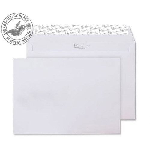Blake Premium Business Wallet P& Ice White Wove C5 120gsm (Pack of 500)