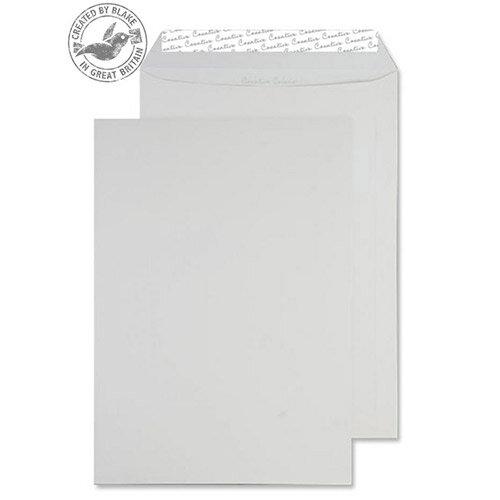 Creative Colour Milk White Pocket C4 Pocket Envelopes (Pack of 250)