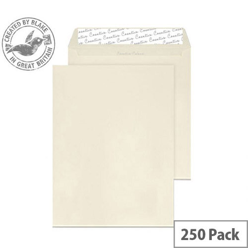 Creative Colour Clotted Cream Pocket C4 Envelopes (Pack of 250)