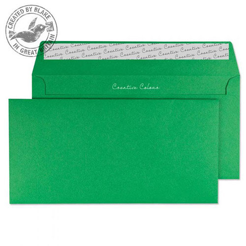 Creative Colour Avocado Green DL+ Wallet Envelopes  (Pack of 500)