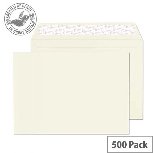 Blake Premium Business Oyster Wove C5 Envelopes (Pack of 500)
