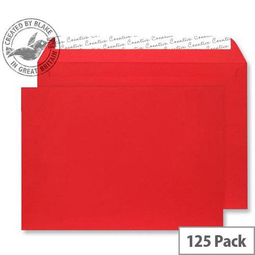 Creative Senses Wallet Red Velvet C5 Envelopes (Pack of 125)