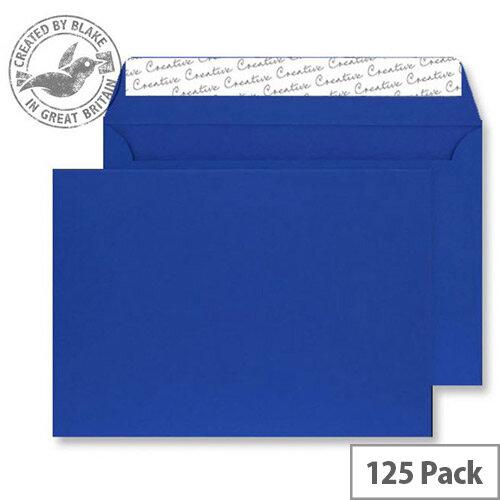 Creative Senses Wallet Blue Velvet C5 Envelopes (Pack of 125)