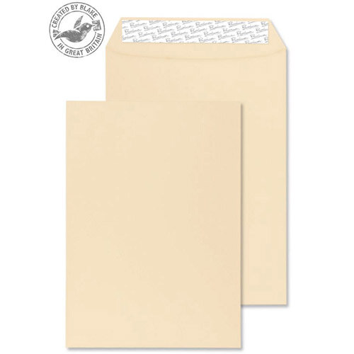Blake Premium Business Gusset P& Cream Wove C4 324x229x25 140gsm (Pack of 125)