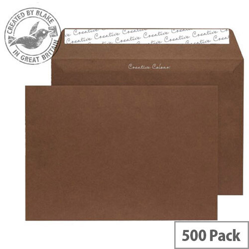 Creative Colour Brown Milk Chocolate C5 Wallet Envelopes (Pack of 500)