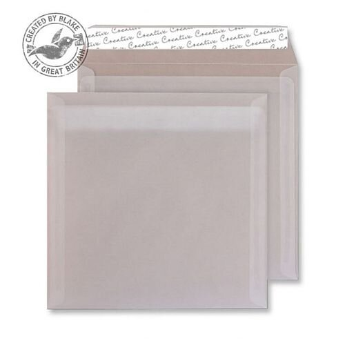 Creative Senses Wallet Square Translucent White Envelopes (Pack of 100)