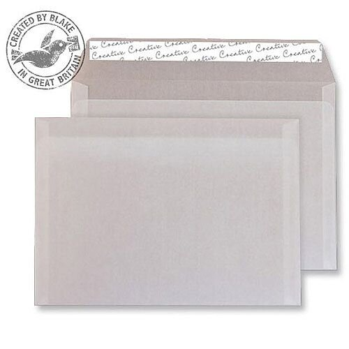 Creative Senses Wallet Translucent White C6 Envelopes (Pack of 500)