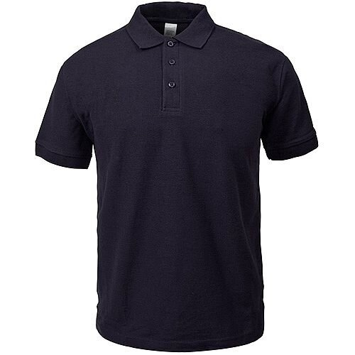 Supertouch Polo Shirt Classic Polycotton Extra Large Black Ref 56CA4