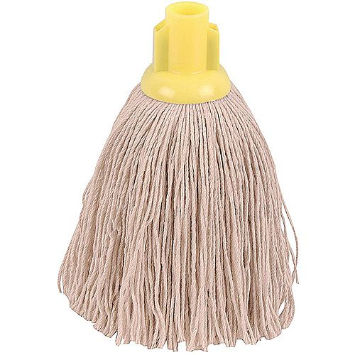 Robert Scott &Sons Socket Mop Head Twine for Rough Surfaces 12oz Yellow [Pack 10]