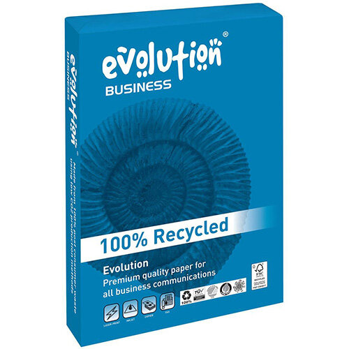 Business Evolution Recycled Paper 100gsm A3 White Ref EVBU2100 [500 Sheets]