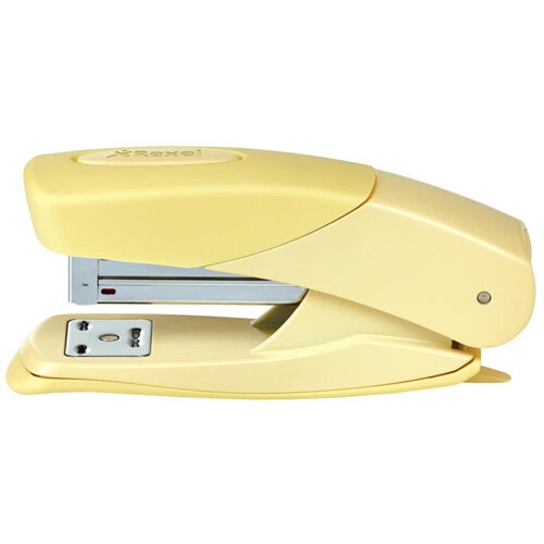 Rexel Matador Half Strip Desktop Stapler Lemon