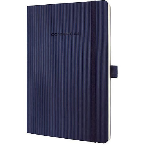 Sigel Conceptum Softcover Notebook A5 135x210x14mm Lined Midnight Blue CO327