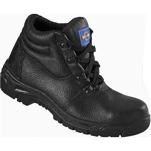 Rock Fall ProMan Chukka Boot Size 13 Leather Steel Toecap Black