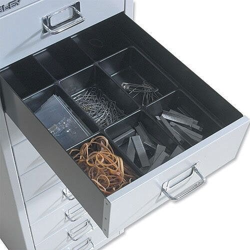 Bisley Black Insert Tray for Storage Cabinet 9 Sections 226P1