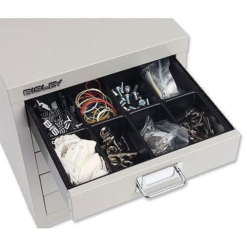 Bisley Black Insert Tray for Storage Cabinet 16 Sections 225P1