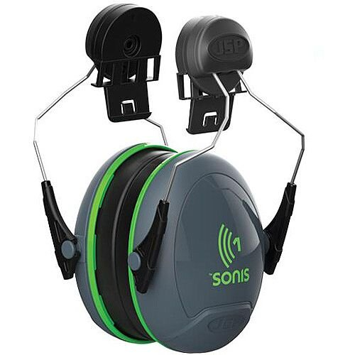 JSP Sonis 1 Helmet Mounted Ear Defenders SNR 26 Low Attenuation