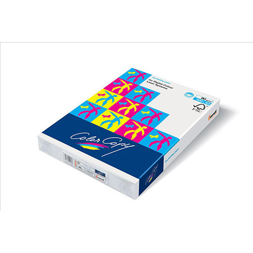 Color Copy Paper White Min 50% FSC4 A4 210x297mm 250Gm2 Pack 125