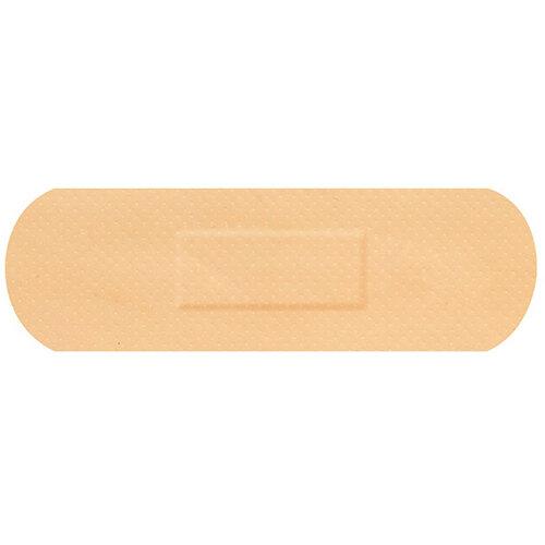Click Medical Hygioplast Waterproof Strip Plasters Beige Pack of 100 Ref CM0536