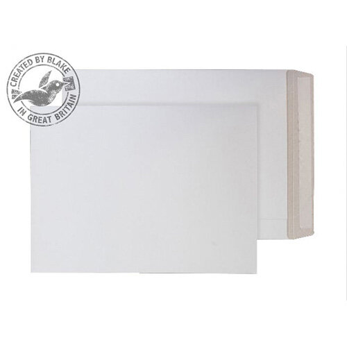 Purely Packaging White C3 Envelopes All Board Peel and Seal 350gsm (Pack of 100)