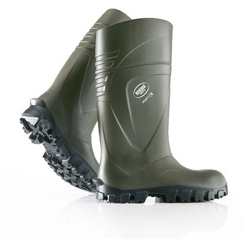 Bekina Steplite X Safety Wellington Boots Size 9 Green Ref BNX2400-918009