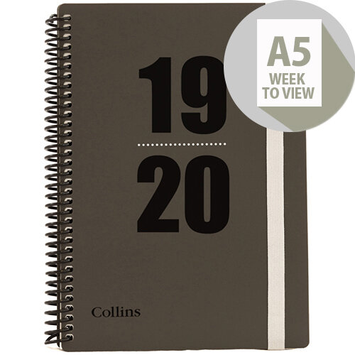 2019//20 Student Diary A5 Week to View Academic Diary School Timetable Planner
