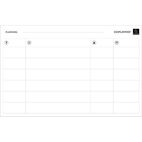 Exacompta Magnetic Team Planner 900x50x590mm Ref 57170E