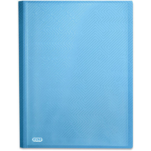 Elba Bright Display Book PP 20 Pkt A4 Blue Ref 400104983 Pack of 10