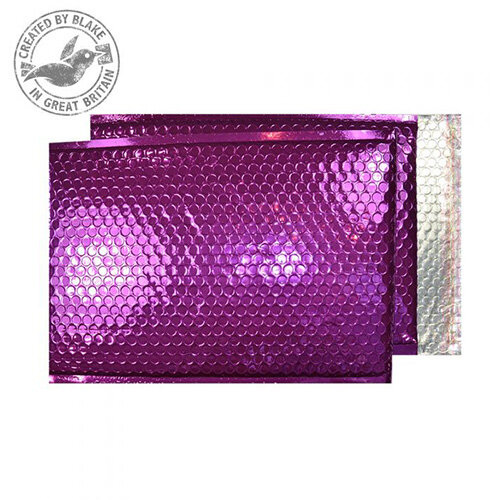 Purely Packaging Padded Envelope P& C3 Metallic Purple Ref MBPUR450 [Pk 50]