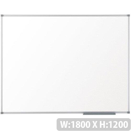 Nobo Prestige Enamel Whiteboard Magnetic Fixings Included W1800xH1200mm White Ref 1905224