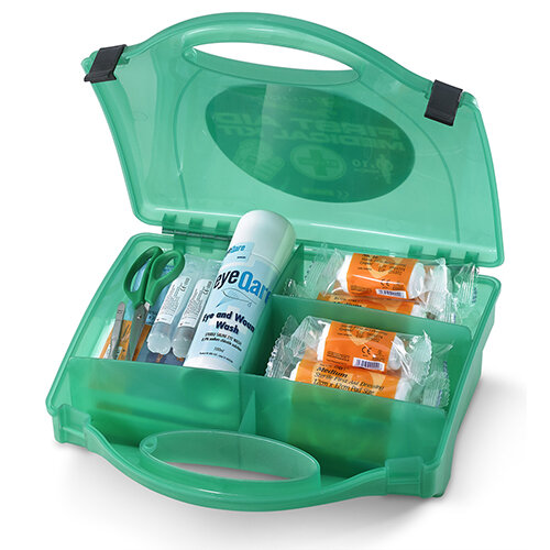 Click Medical 10 Person Trader First Aid Kit Ref CM0210