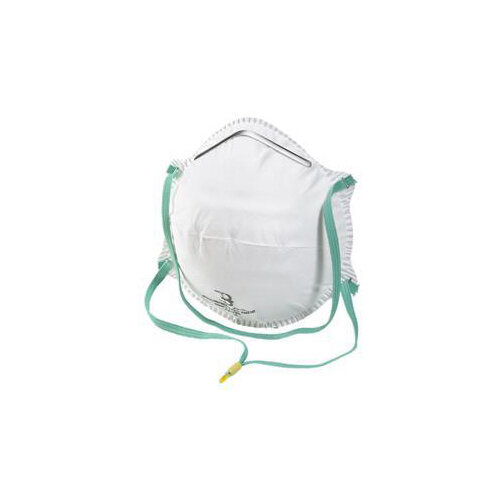 B-Brand P1 Mask Collapse Resistant Double Shell White Pack of 20 Ref BBP1