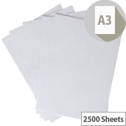 White Box A3 Paper 5 x 500 Sheets White