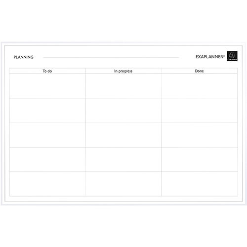 Exacompta Magnetic To Do List 900x50x590mm Ref 57180E