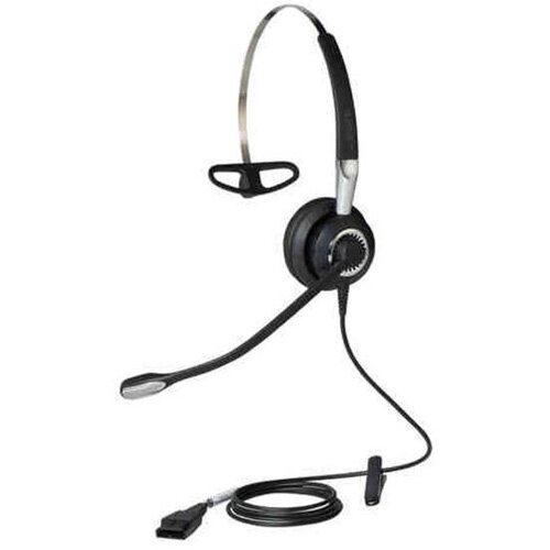 Jabra BIZ 2400 II Mono 3 in 1 Corded Headset with Noise Cancelling Microphone
