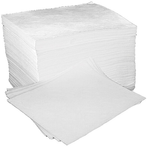 Fentex Oil & Fuel Absorbent Pads Ref OB100MF Pack of 100