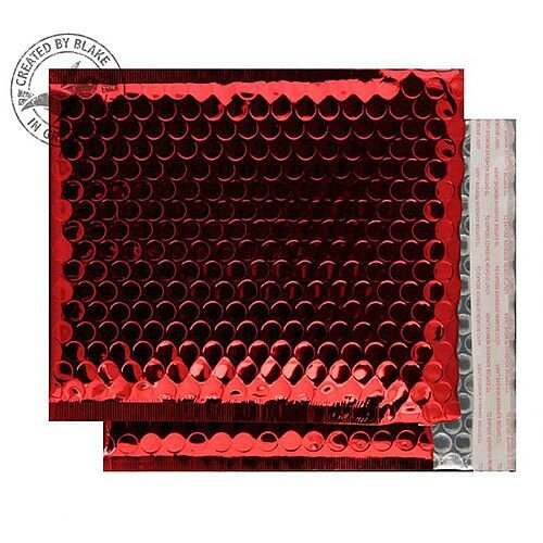 Purely Packaging Padded Envelope P& CD Metallic Red Ref MBR165 [Pk 200]