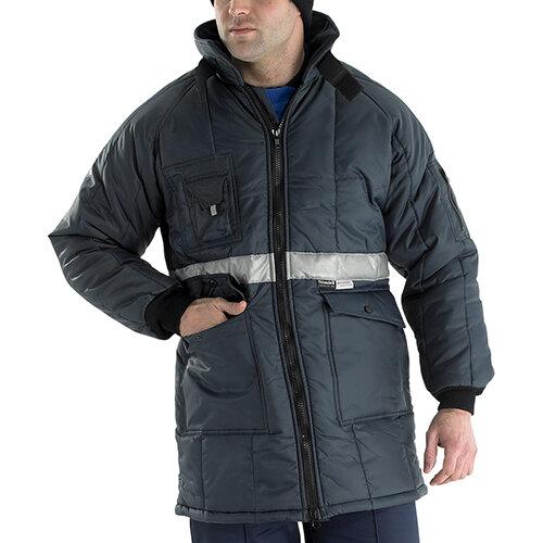 Click Freezerwear Coldstar Freezer Jacket Size XL Navy Blue  Ref CCFJNXL