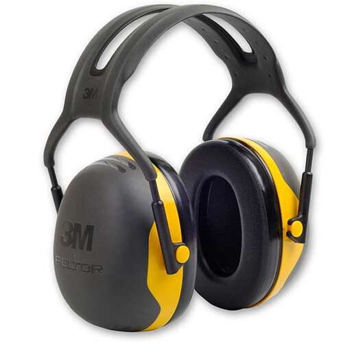 3M PELTOR X2A Headband Ear Defender Headset SNR31 Black &Yellow Ref X2A