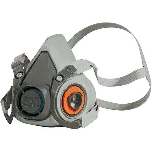 3M 6000 Series Half Face Mask Respirator Medium Grey