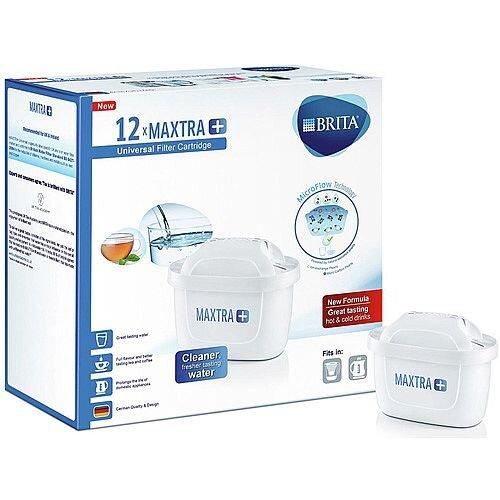 Brita Maxtra Plus Filter Cartridge White 12 Pack