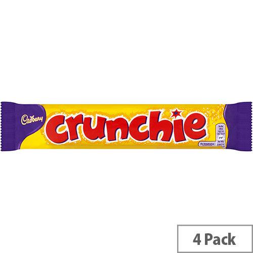 Cadbury Crunchie Chocolate Bars Ref 4248447 Pack of 4