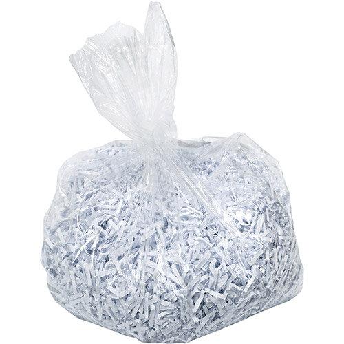 Leitz Waste Bag for IQ Shredder 40 Litre Ref 80080000 Pack of 100
